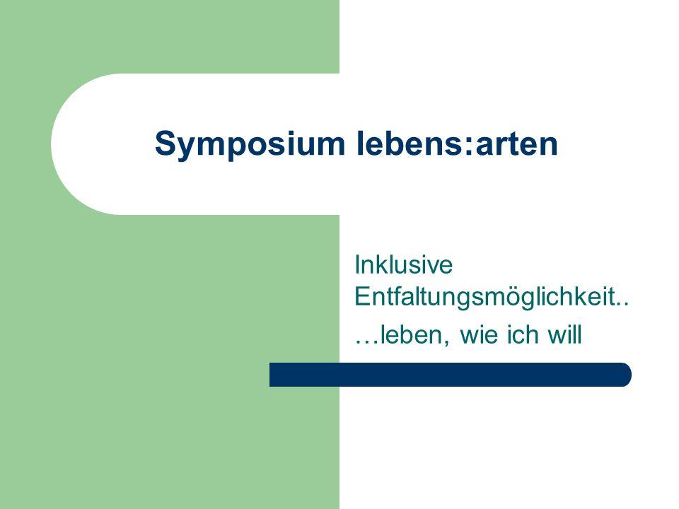 Symposium lebens:arten