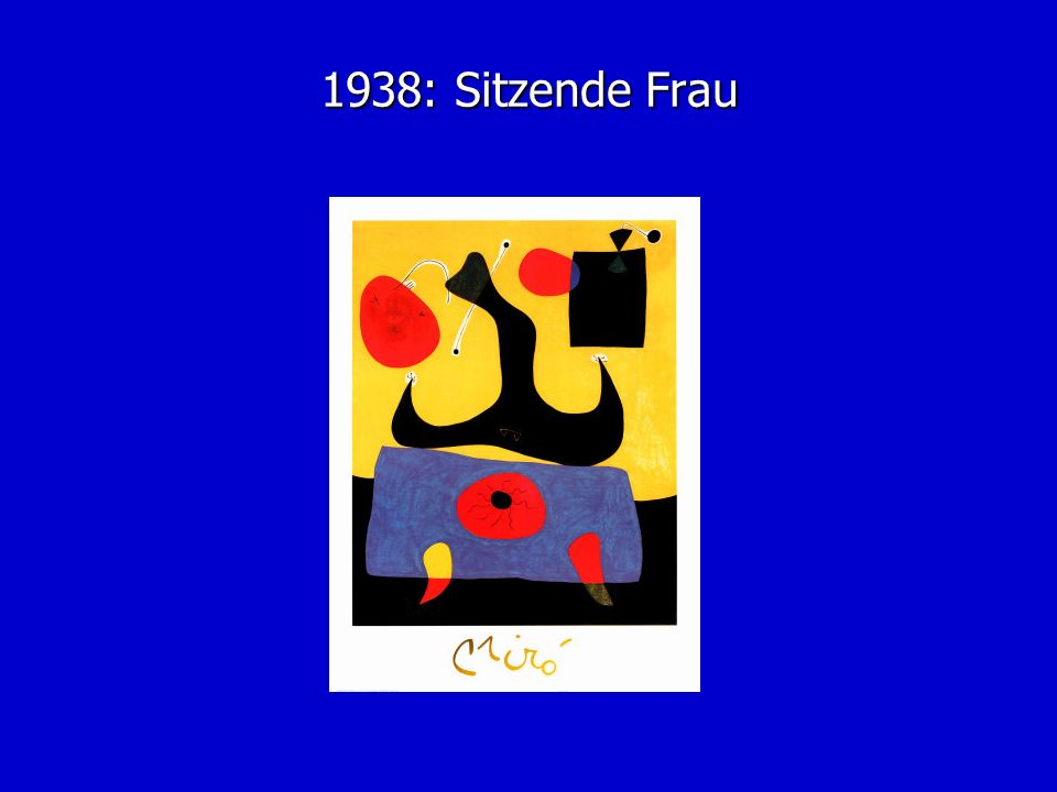 1938: Sitzende Frau