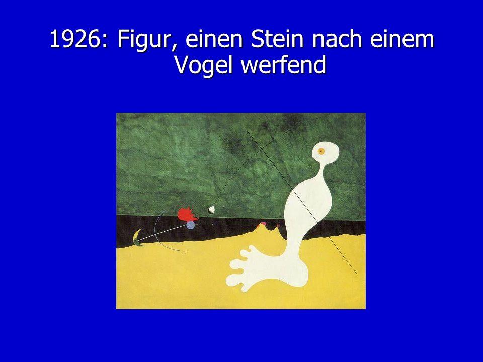 1926: Figur, einen Stein nach einem Vogel werfend