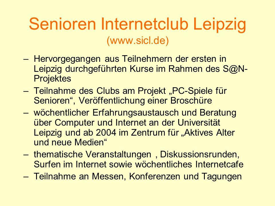 Senioren Internetclub Leipzig (www.sicl.de)