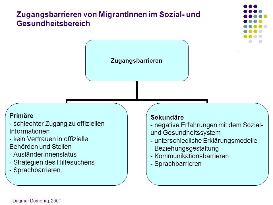 Zugangsbarrieren von MigrantInnen im Sozial- und Gesundheitsbereich