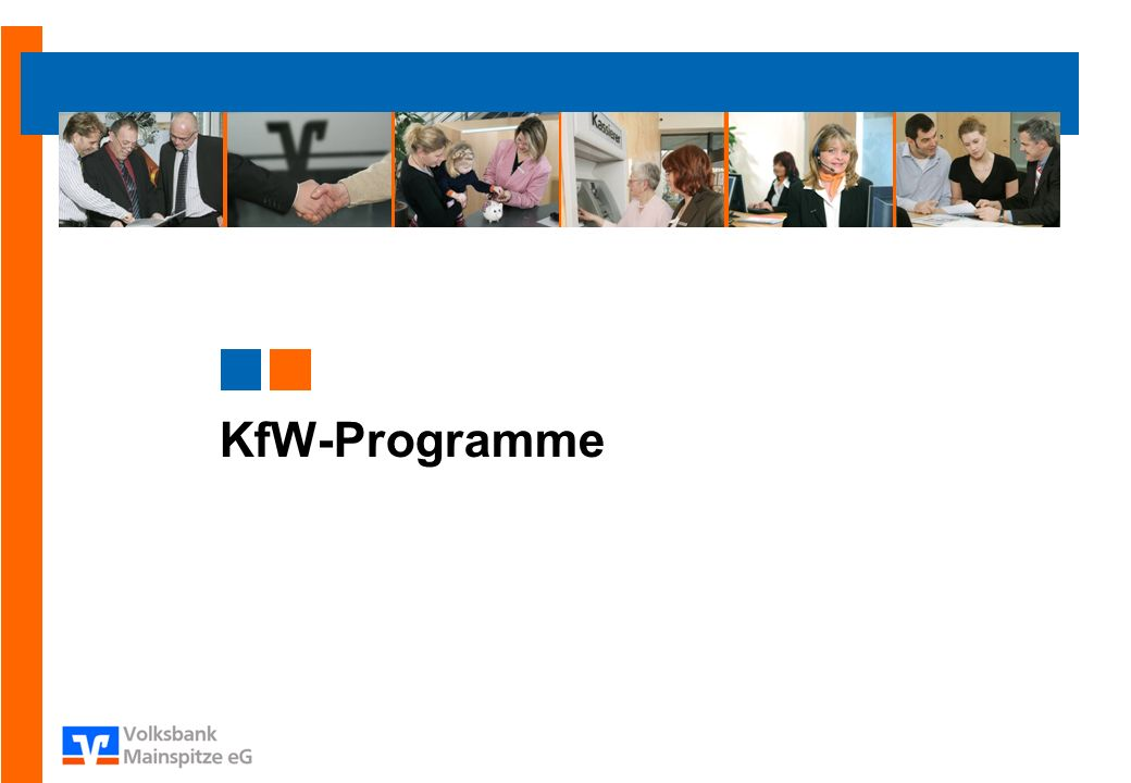KfW-Programme Eller Start