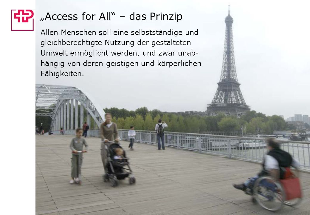 """Access for All – das Prinzip"