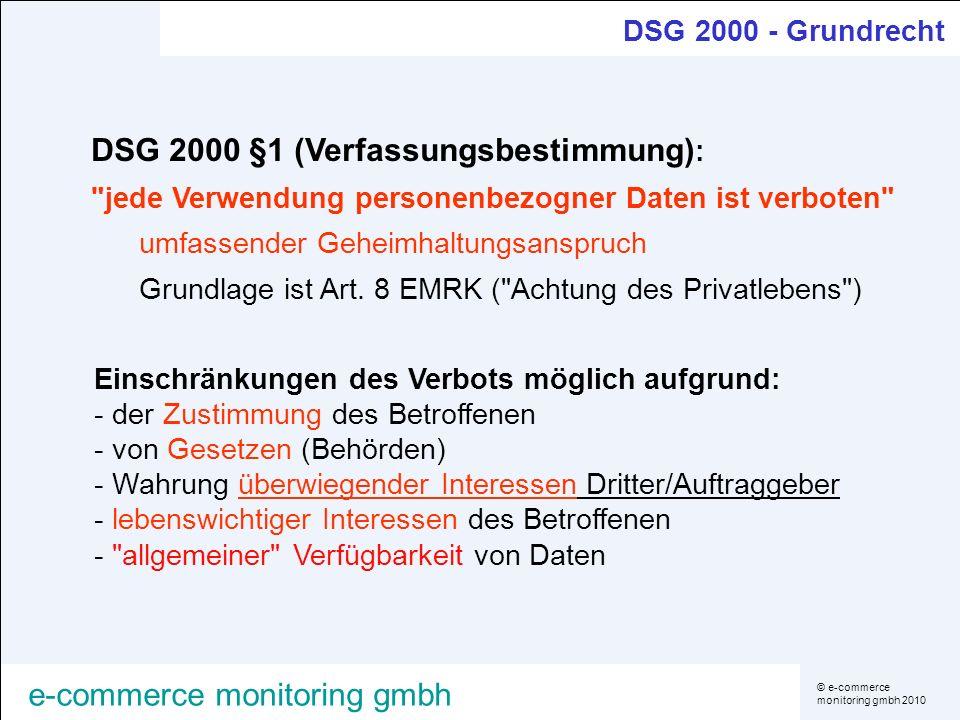 DSG 2000 §1 (Verfassungsbestimmung):