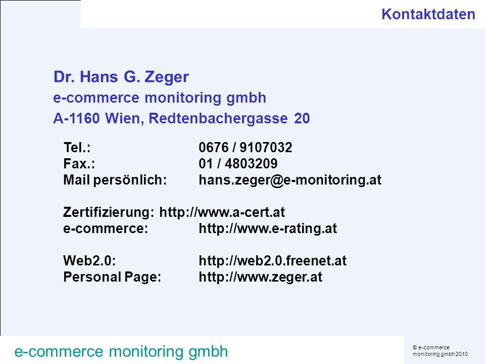e-commerce monitoring gmbh