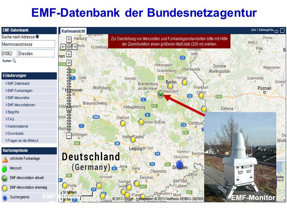 EMF-Datenbank der Bundesnetzagentur