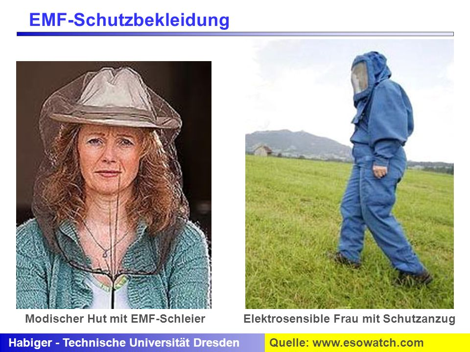 EMF-Schutzbekleidung