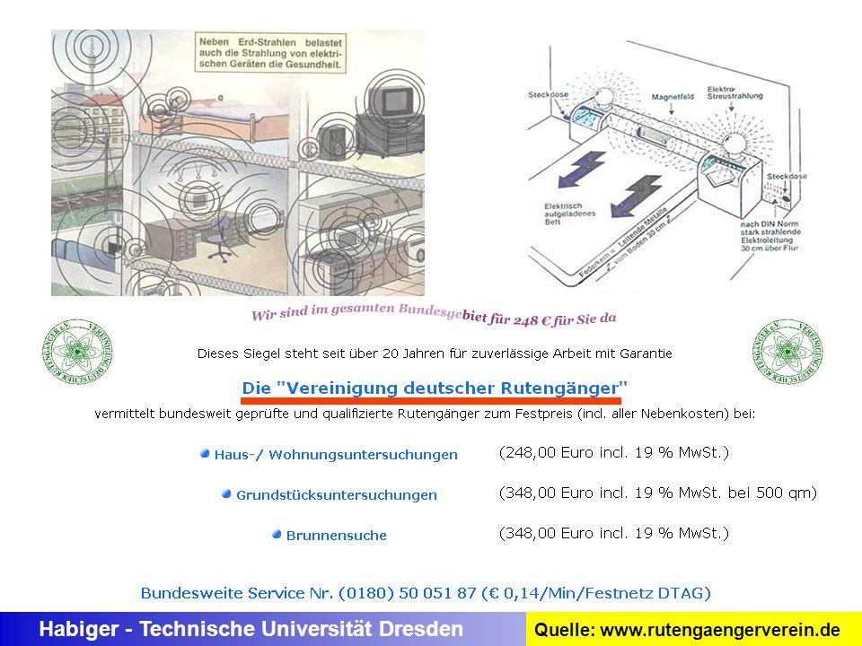Habiger - Technische Universität Dresden