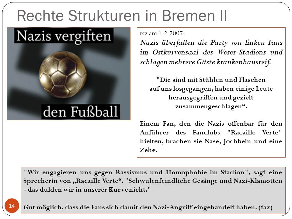 Rechte Strukturen in Bremen II