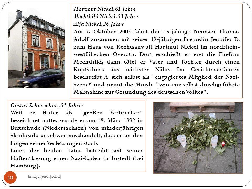 Mechthild Nickel, 53 Jahre Alja Nickel, 26 Jahre