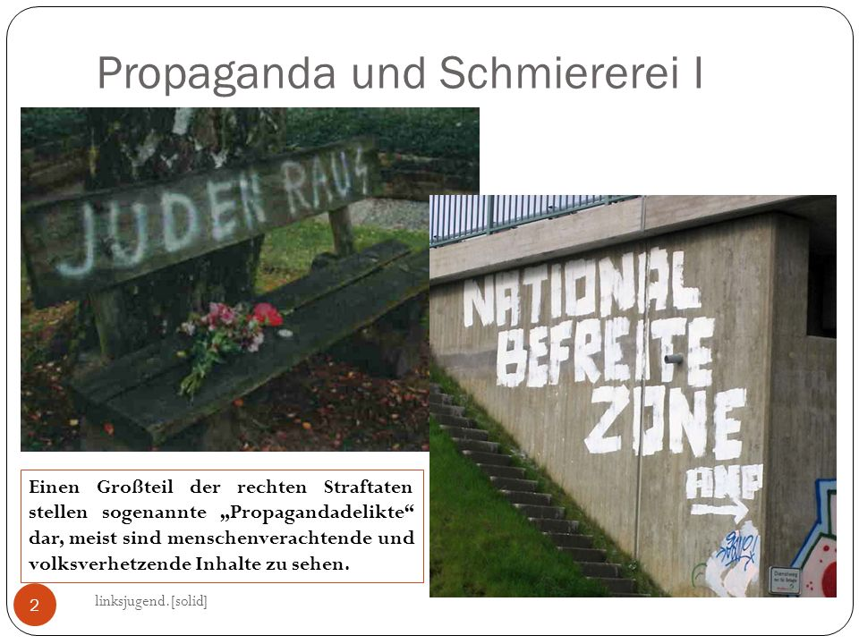 Propaganda und Schmiererei I