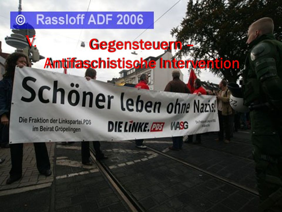 Gegensteuern – Antifaschistische Intervention