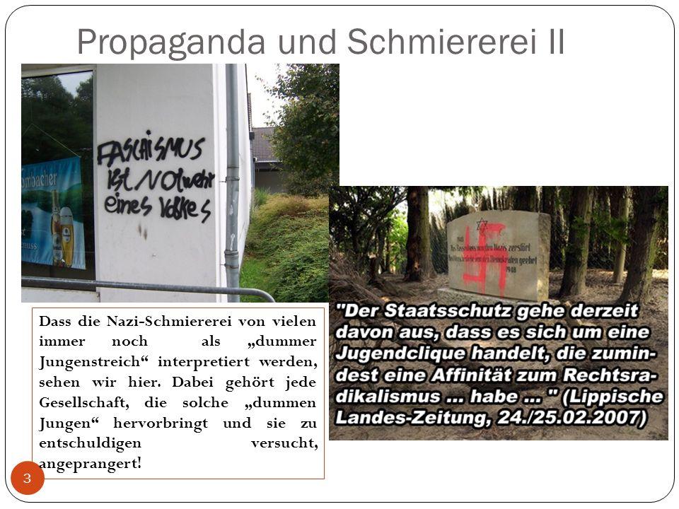 Propaganda und Schmiererei II