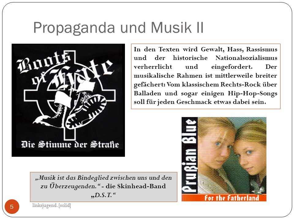 Propaganda und Musik II