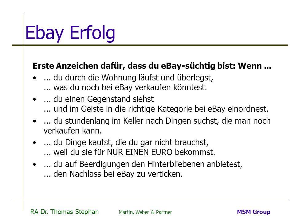 Ebay Erfolg Erste Anzeichen dafür, dass du eBay-süchtig bist: Wenn ...