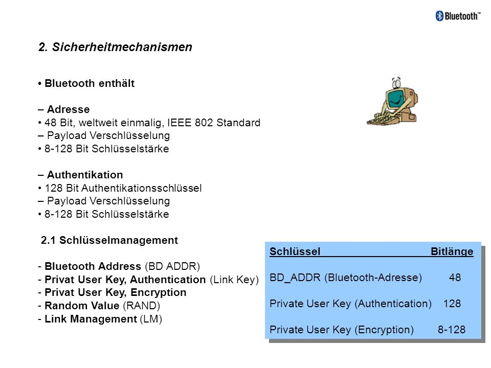 2. Sicherheitmechanismen