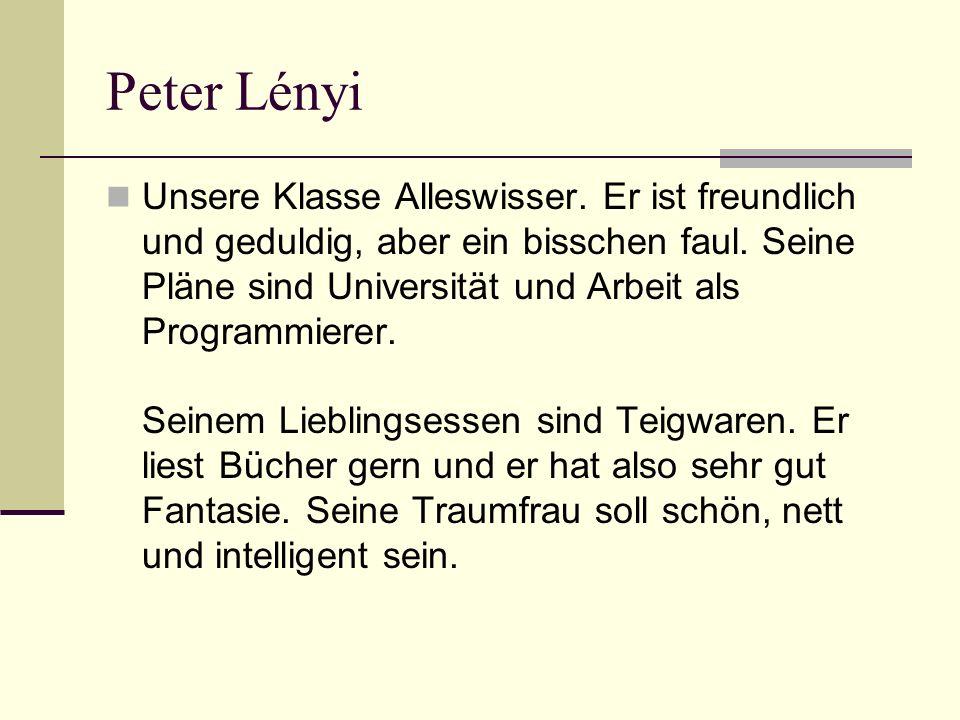 Peter Lényi