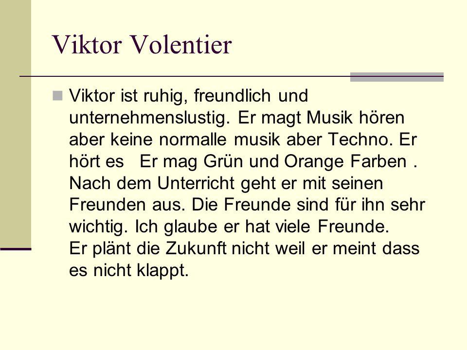 Viktor Volentier