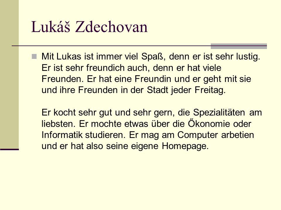 Lukáš Zdechovan