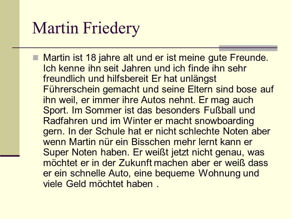 Martin Friedery