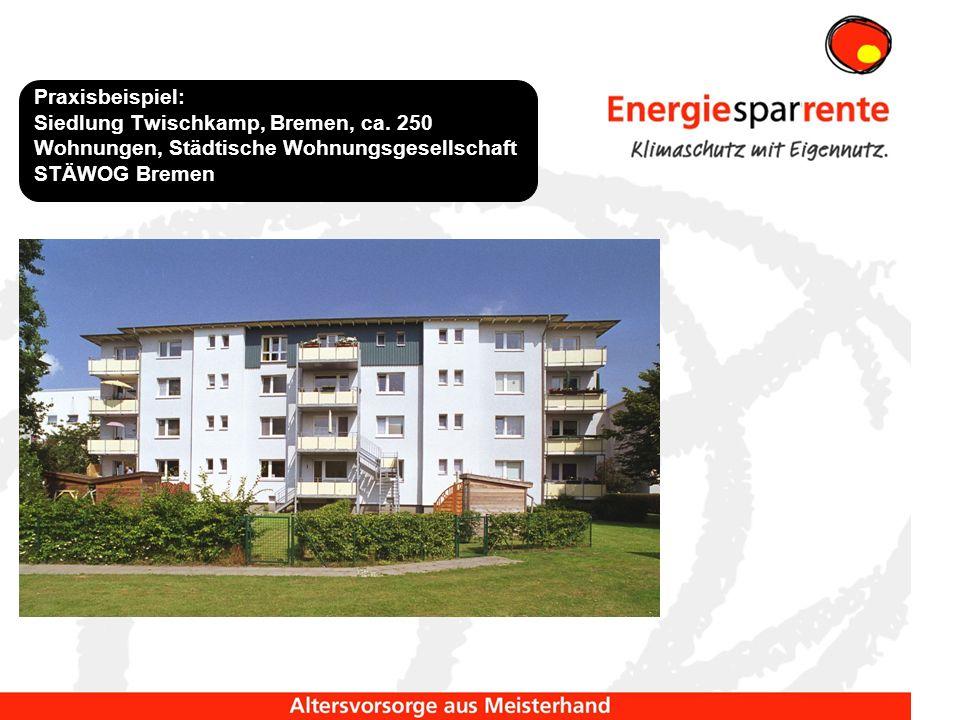 Praxisbeispiel: Siedlung Twischkamp, Bremen, ca