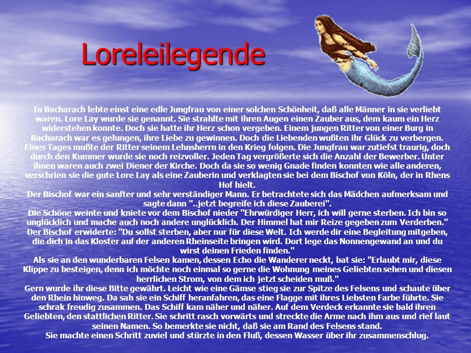 Loreleilegende