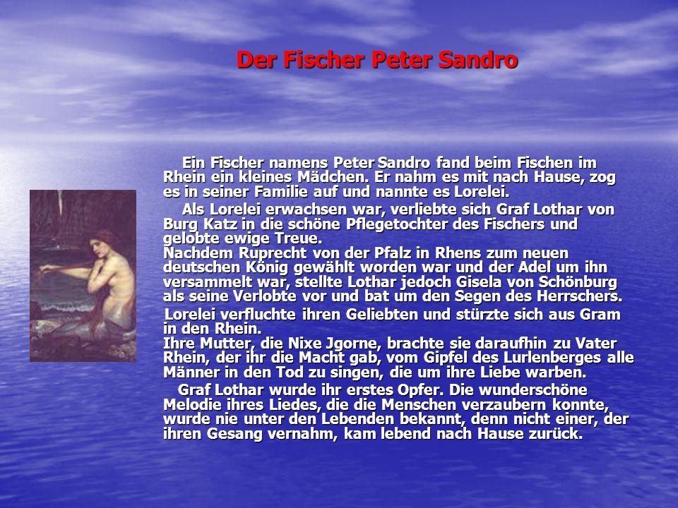 Der Fischer Peter Sandro