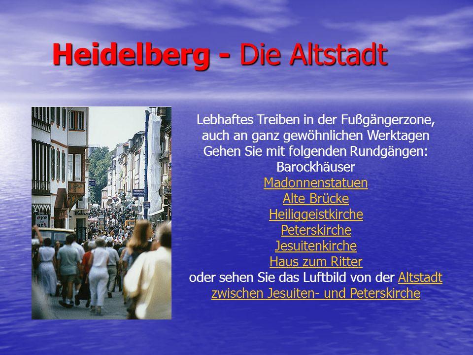 Heidelberg - Die Altstadt