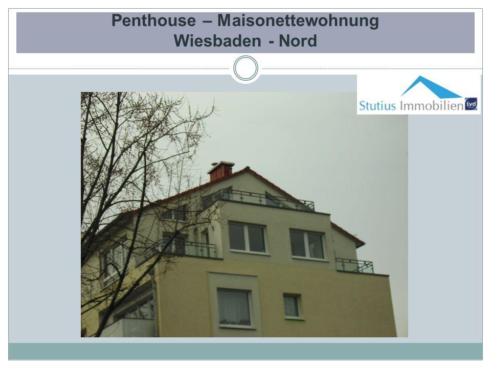 Penthouse – Maisonettewohnung Wiesbaden - Nord