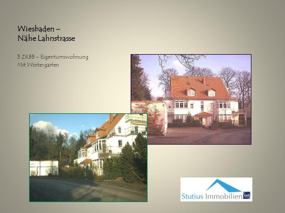 Wiesbaden – Nähe Lahnstrasse