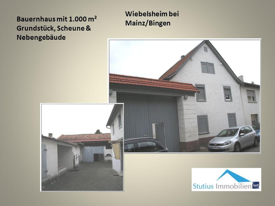 Bauernhaus mit 1.000 m² Grundstück, Scheune & Nebengebäude