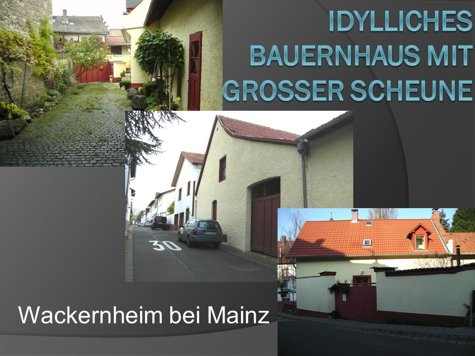 IdylLiches Bauernhaus mit Grosser Scheune