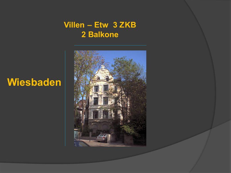 Villen – Etw 3 ZKB 2 Balkone
