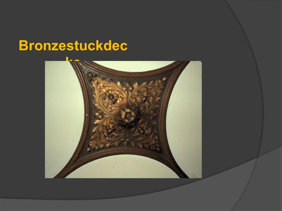Bronzestuckdecke