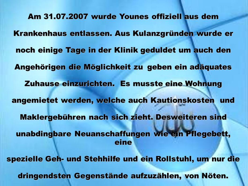 Am 31.07.2007 wurde Younes offiziell aus dem