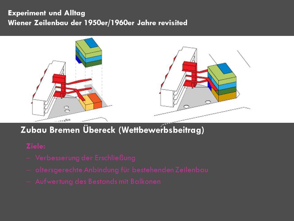 Zubau Bremen Übereck (Wettbewerbsbeitrag)