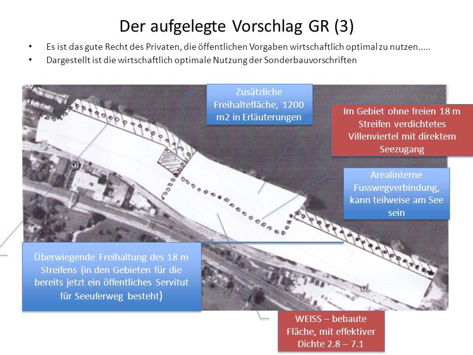 Der aufgelegte Vorschlag GR (3)