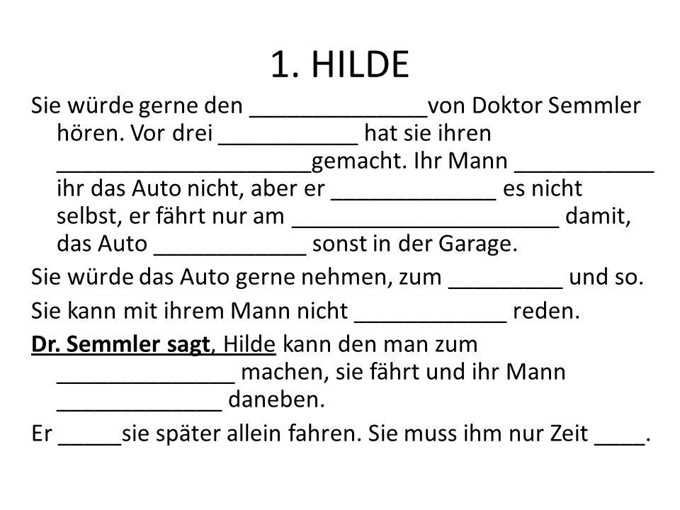 1. HILDE
