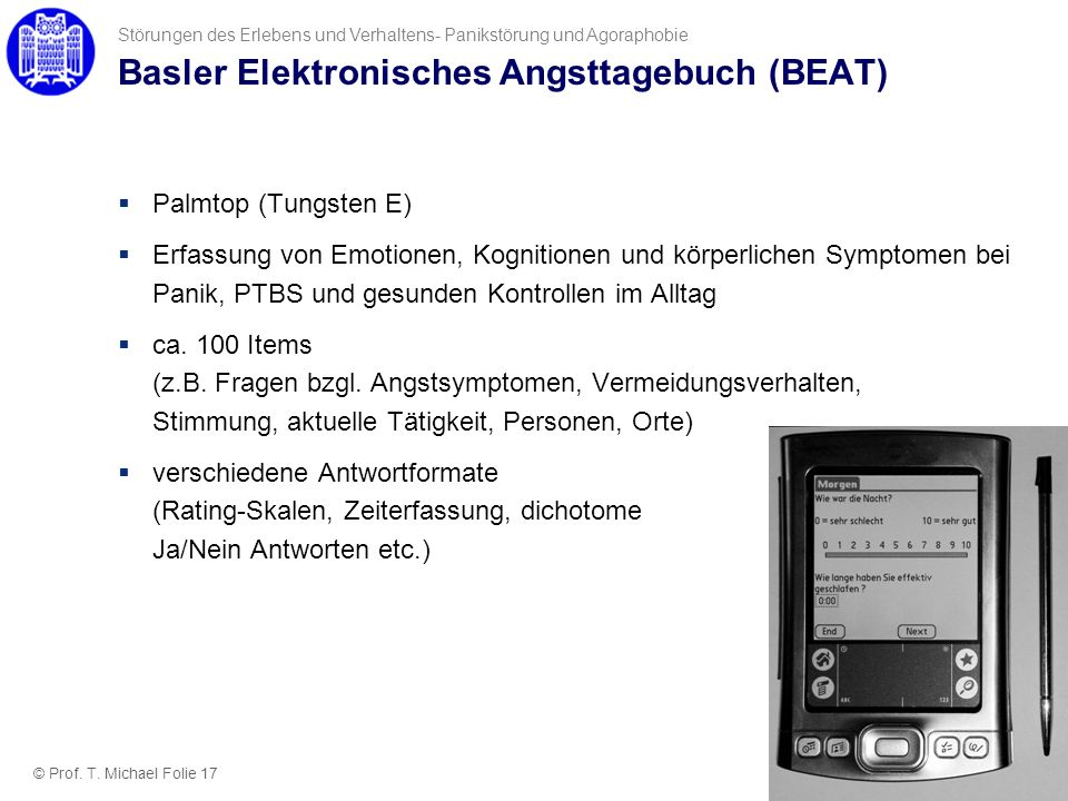 Basler Elektronisches Angsttagebuch (BEAT)
