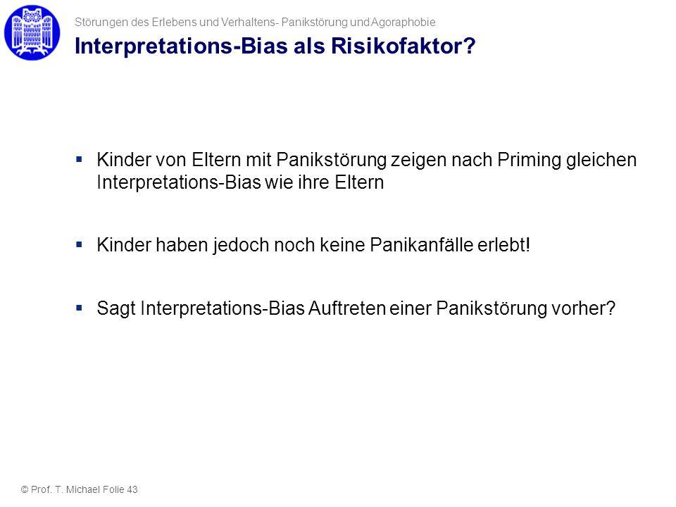 Interpretations-Bias als Risikofaktor