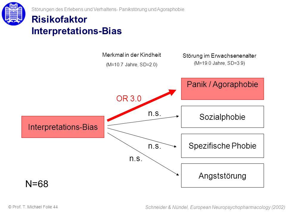 Risikofaktor Interpretations-Bias