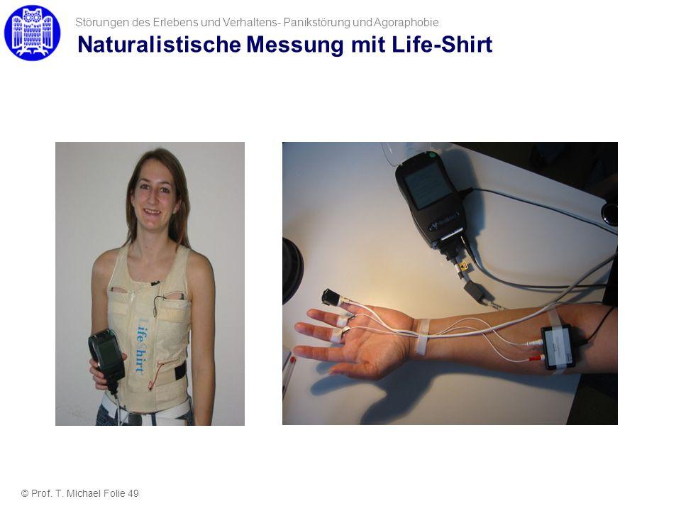 Naturalistische Messung mit Life-Shirt