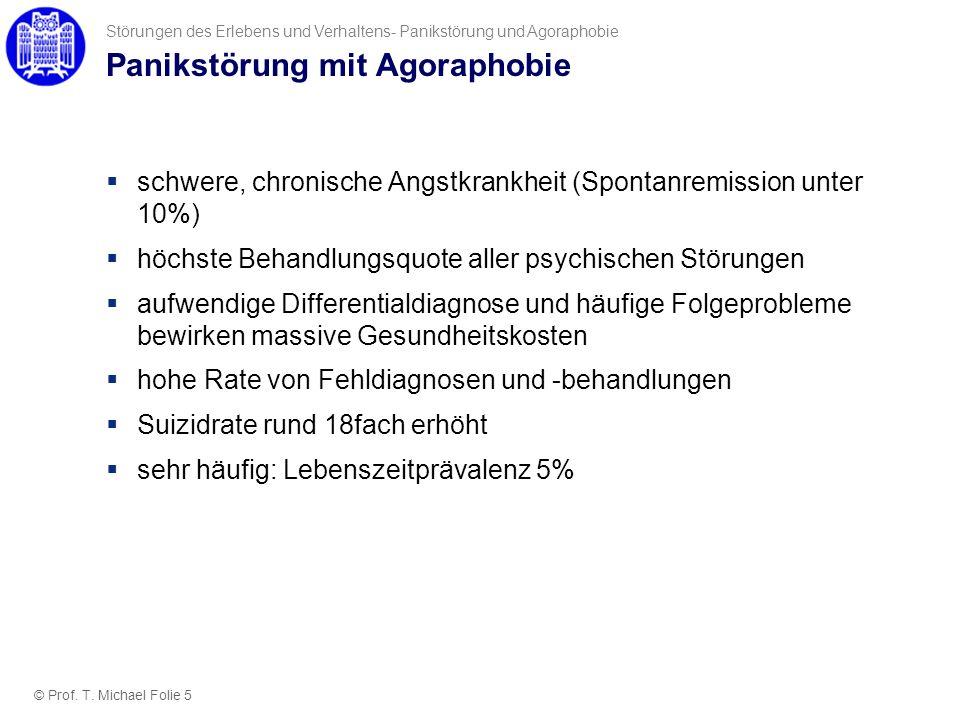 Panikstörung mit Agoraphobie