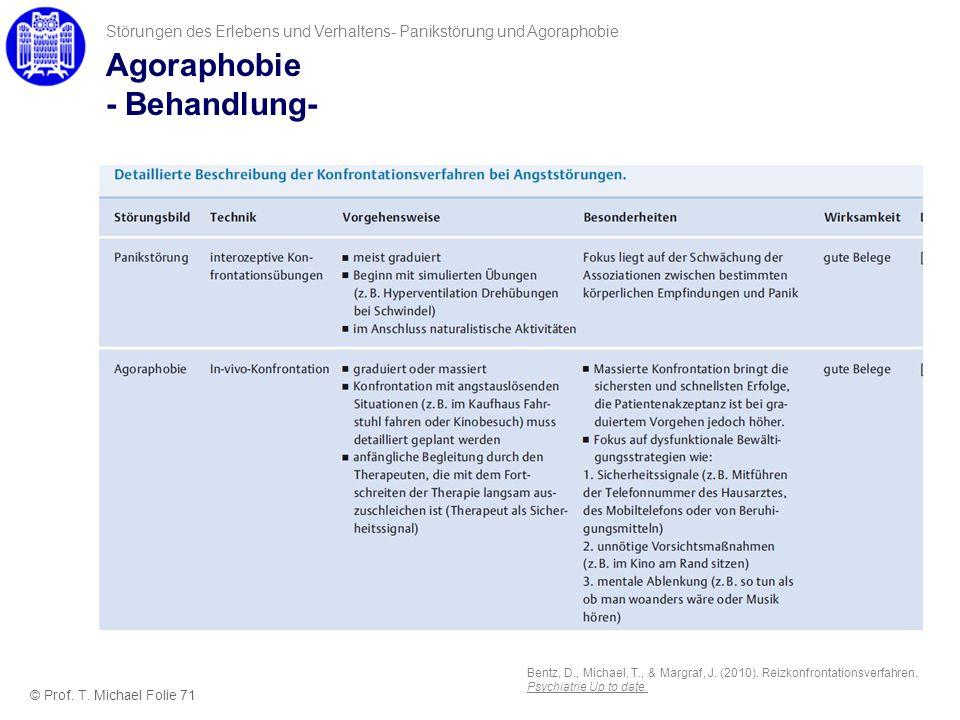 Agoraphobie - Behandlung-