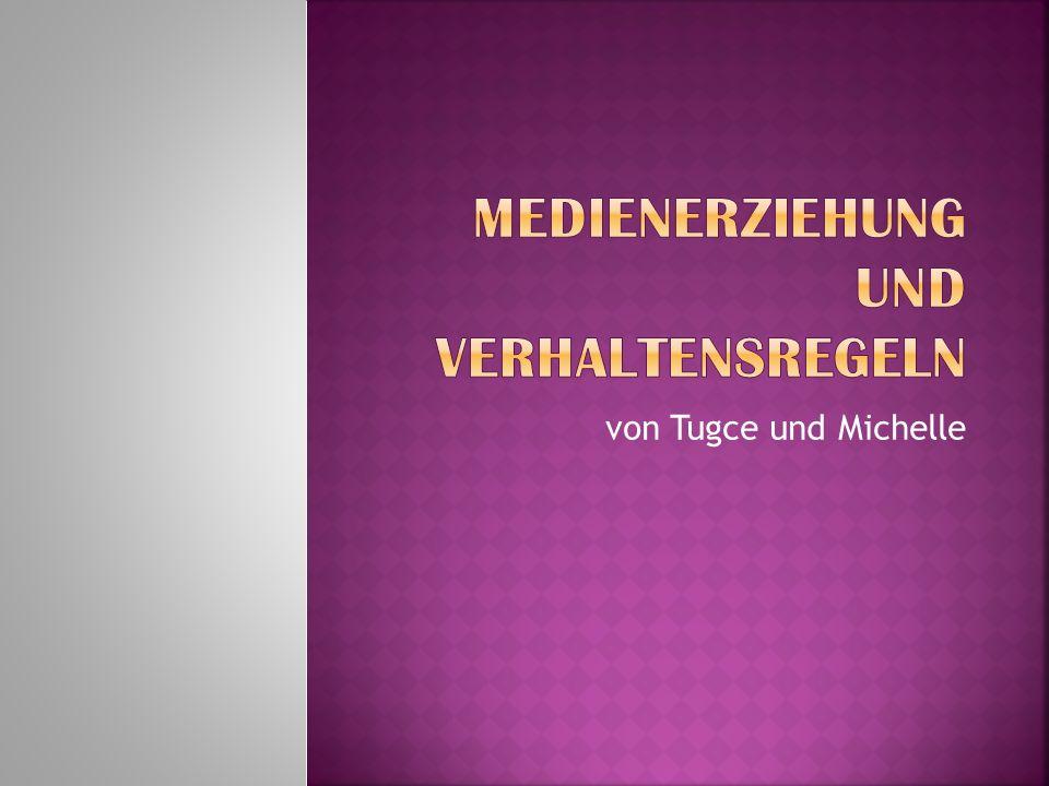 Medienerziehung und Verhaltensregeln