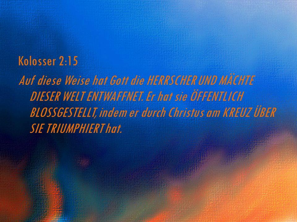 Kolosser 2:15