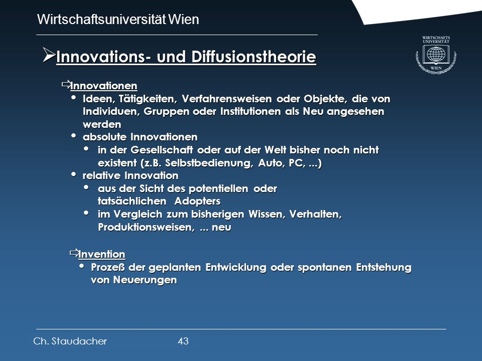 Innovations- und Diffusionstheorie