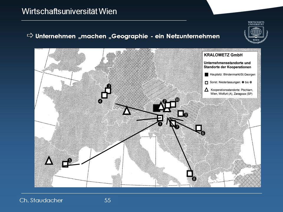 """Unternehmen """"machen """"Geographie - ein Netzunternehmen"""