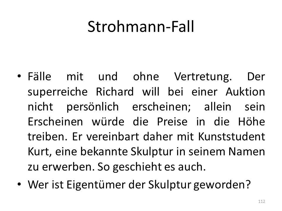 Strohmann-Fall