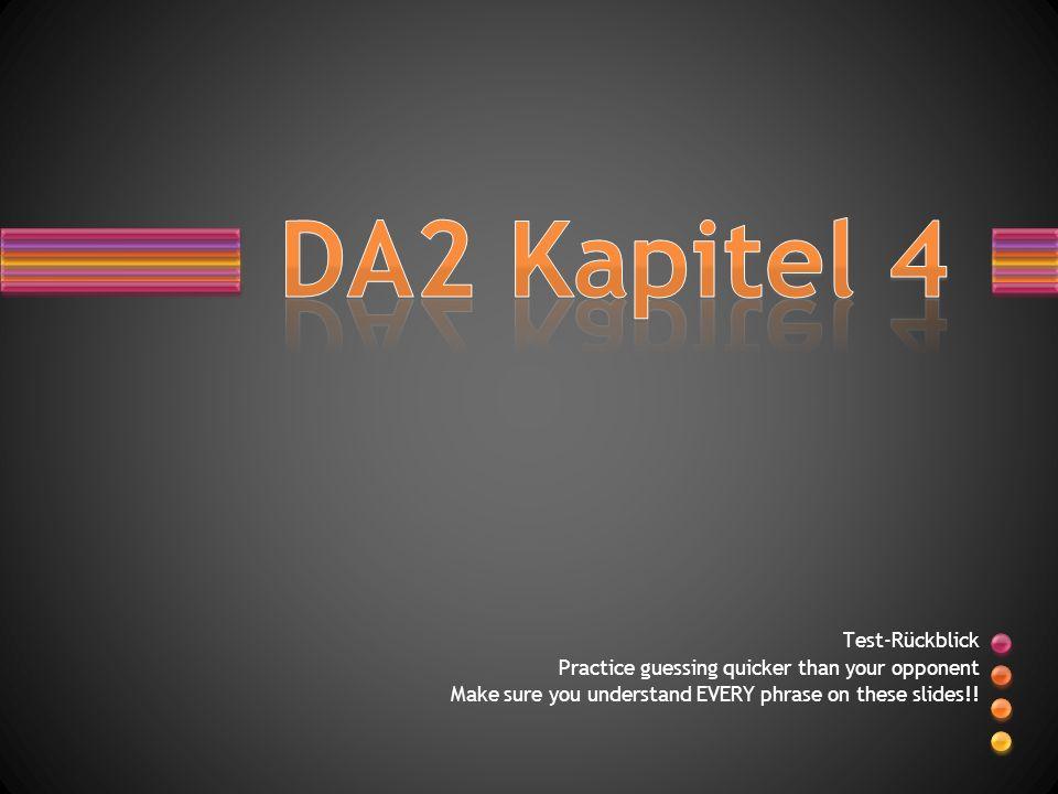 DA2 Kapitel 4 Test-Rückblick